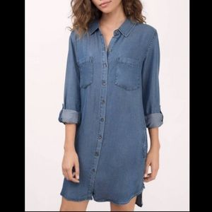 Thread & Supply | Chambray Button Down Dress